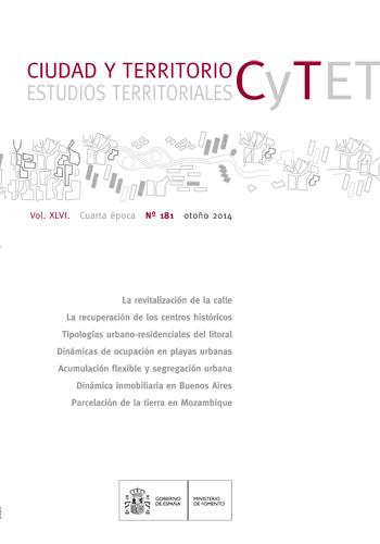 Estudios territoriales, urbanismo, observatorio inmobiliario